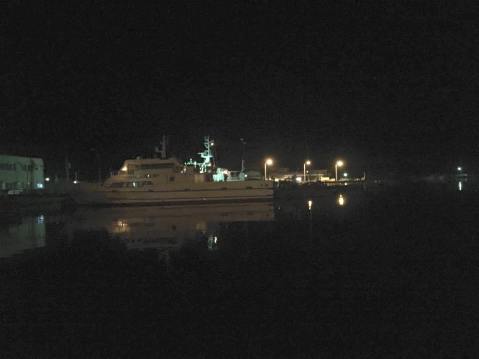 宿毛の片島港から家中渡船で姫島へ!