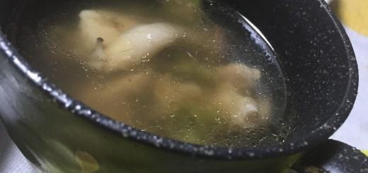 鶏肉と夏野菜のスープ
