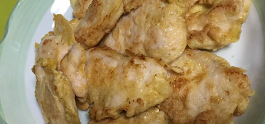 鶏むね肉のピカタ